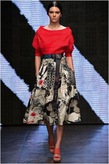 Donna Karan Gets Arty for Spring 2015