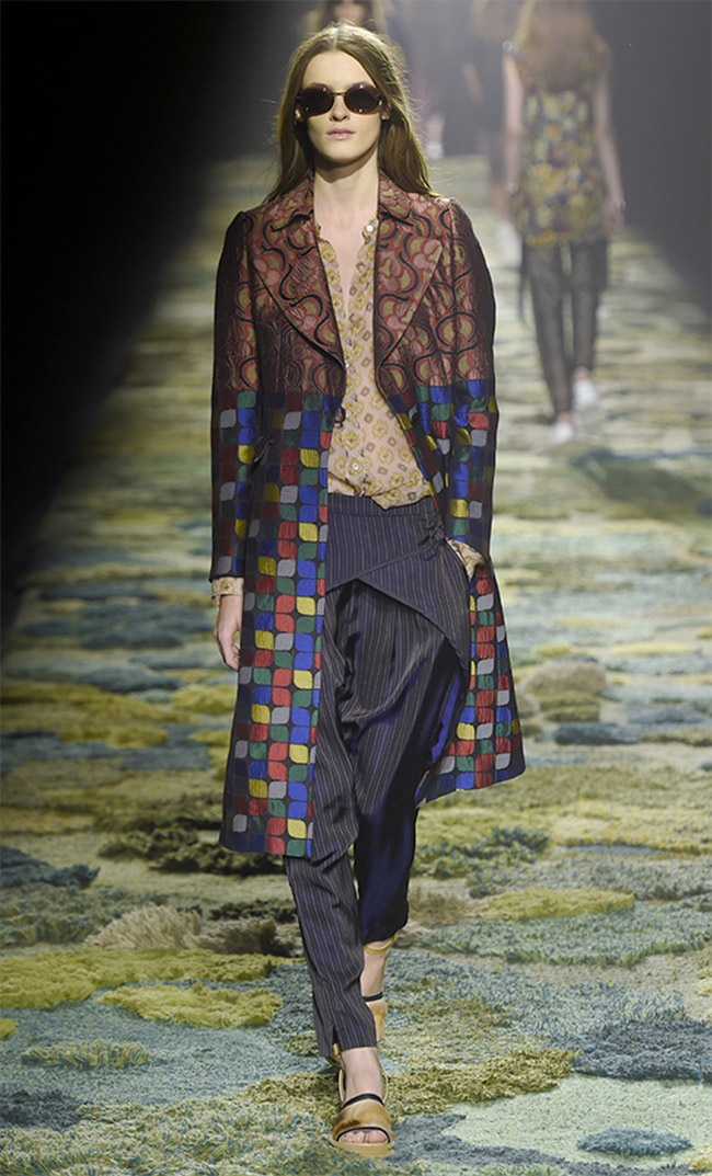 Dries Van Noten Spring 2015: Fashion Goes Back to Nature