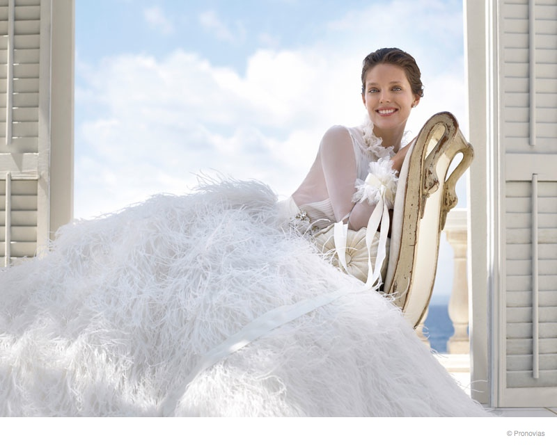 Emily DiDonato Makes a Beautiful Bride in Pronovias 2015 Campaign