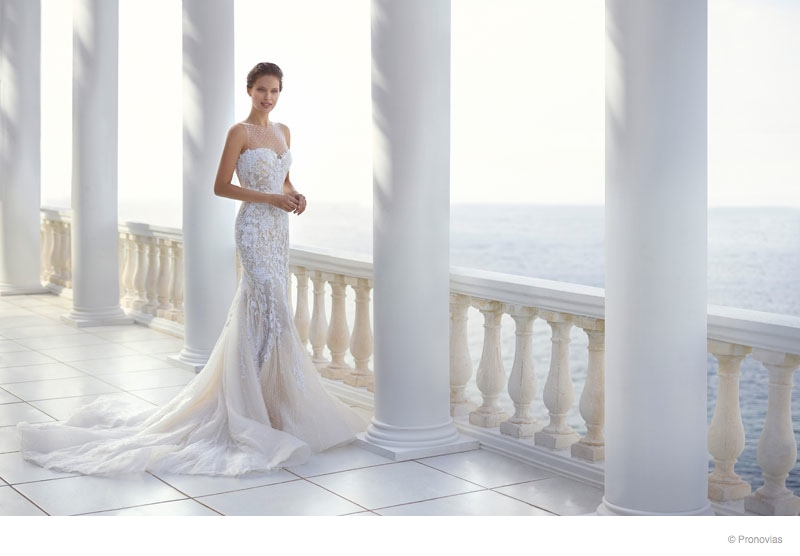 Pronovias 2015 Wedding Dresses Campaign With Emily