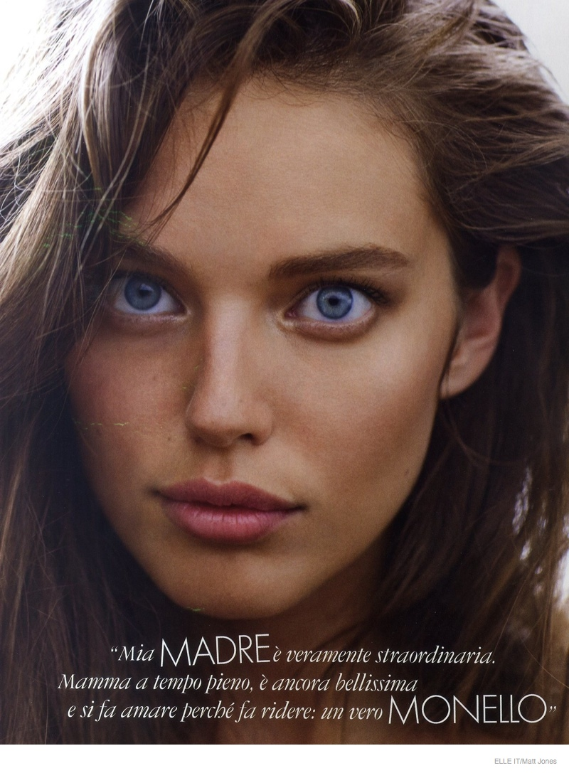 Emily Didonato Models Luxe Loungewear For Cover Story Of