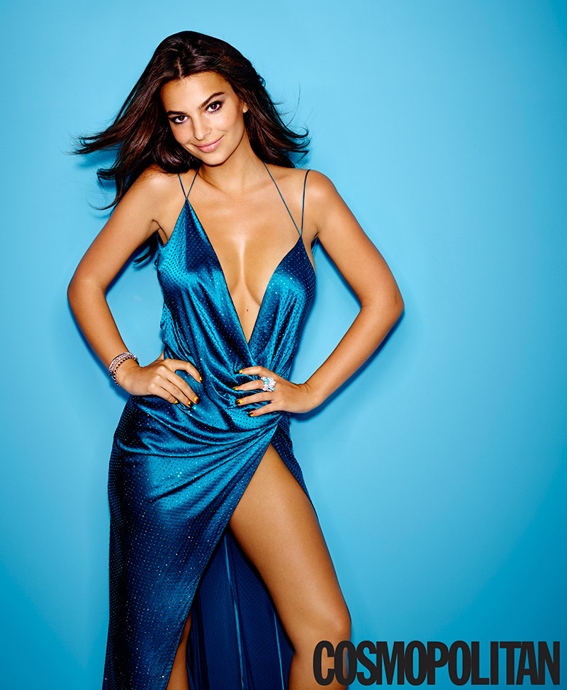 emily ratajkowski cosmopolitan november 2014 Model Actresses: 6 Double Threats to Watch Out For