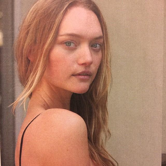 Another candid of the model. Image: ashleybrokaw/Instagram