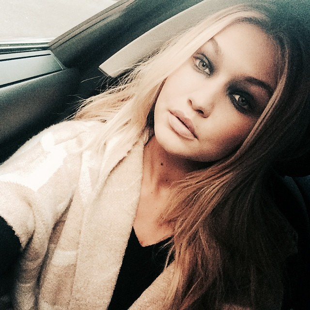 gigi smokey eyes Instagram Photos of the Week   Candice Swanepoel, Lara Stone + More Models