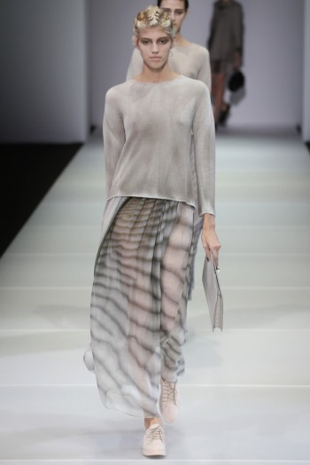Giorgio Armani's Sea Sirens for Spring 2015