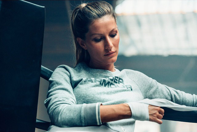 gisele bundchen under armour 2014 Gisele Bundchen is the New Face of Under Armour