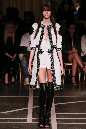 Givenchy Goes Black & White for Spring 2015