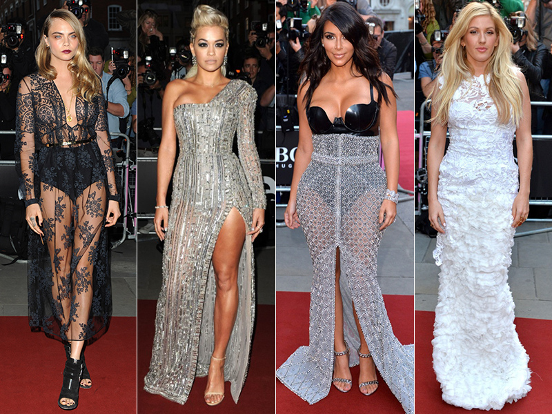 2014 GQ Men of the Year Awards: Cara Delevingne, Kim Kardashian, Rita Ora + More Stars