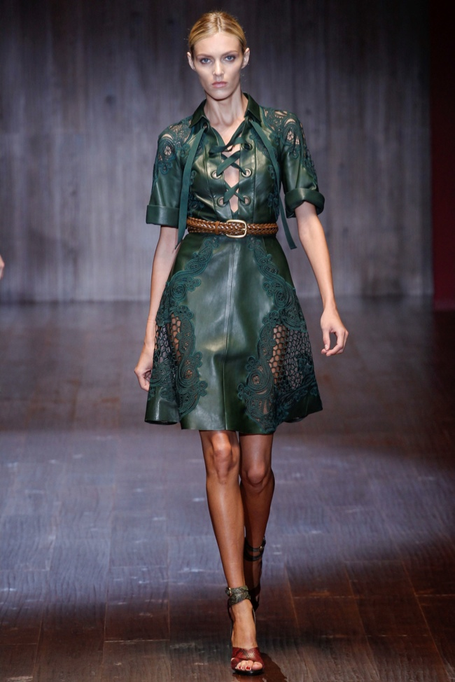 Gucci Goes Back to the 70s for Spring 2015