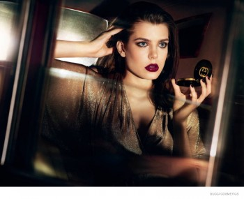 Charlotte Casiraghi Stuns in Gucci Cosmetics Campaign by Mert & Marcus