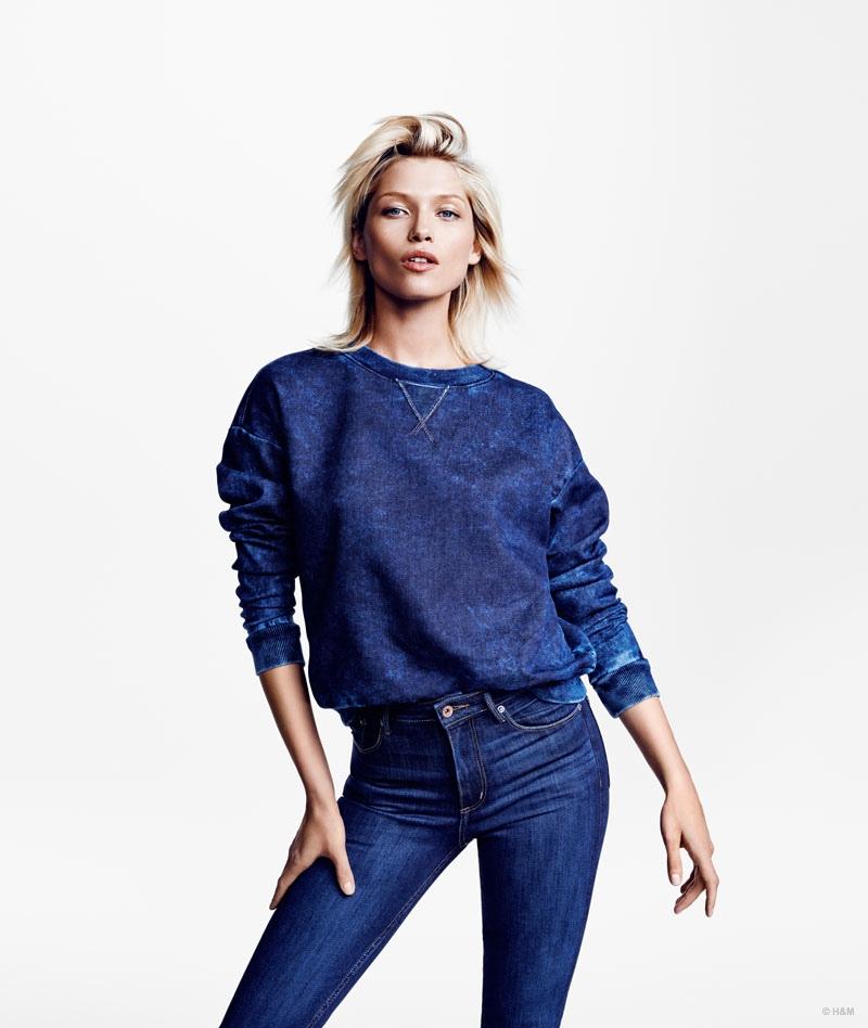 SWEAT It: Pair some dark wash denim with a sweatshirt style top.