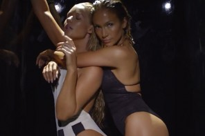 "Watch: Jennifer Lopez & Iggy Azalea Work it for ""Booty"" Music Video"