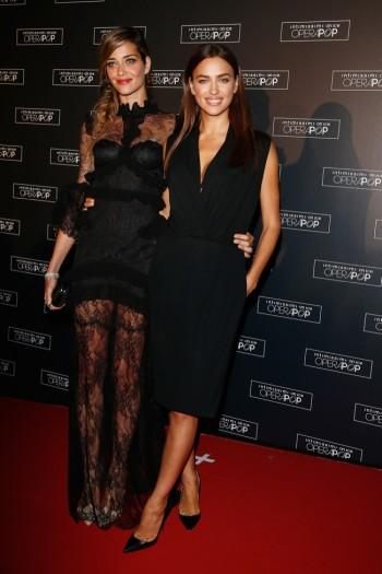 Irina Shayk & Ana Beatriz Barros Stun at Intimissimi on Ice Opera Pop Event
