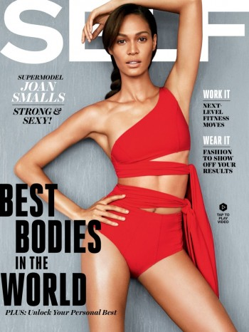 Joan Smalls Covers Self Magazine, Talks Struggle with Scoliosis