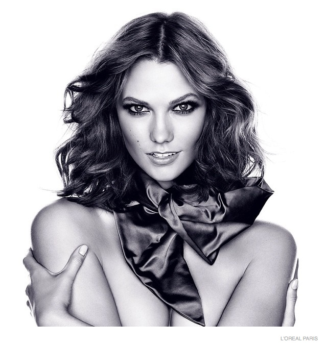 First Official Photos of Karlie Kloss for L'Oreal Paris Released
