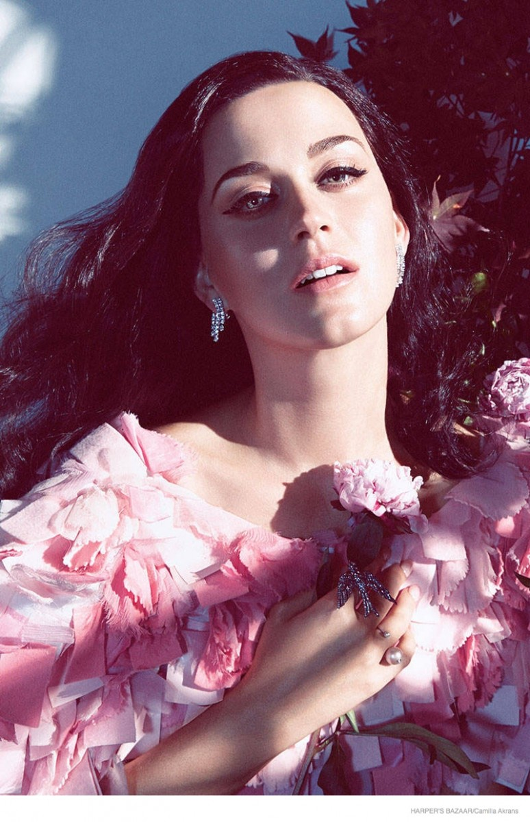 Katy Perry Stars in Harper's Bazaar, Opens Up About Failed Relationships