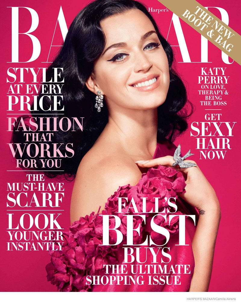 Fashion Magazines Look To Familiar Faces For Cover Models: Katy Perry Stars In Harper's Bazaar, Opens Up About Failed