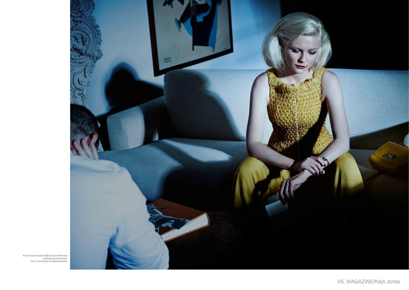 Kirsten Dunst Has a Tumultuous Romance for Vs. Magazine Photo Shoot