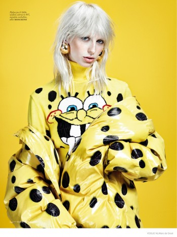 Lili Sumner in Standout Style for Vogue Netherlands by Marc de Groot