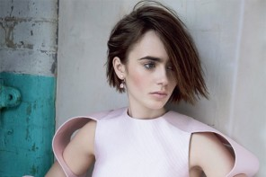 Actress Lily Collins Poses in Marie Claire UK Story by David Roemer