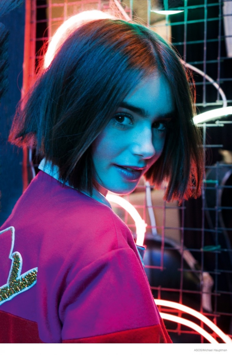 Lily Collins Gets a Pixie Haircut