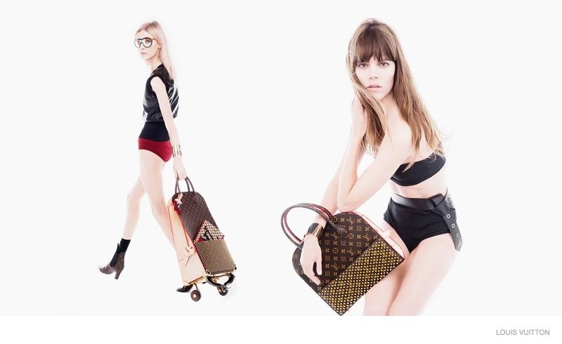 Louis Vuitton Reveals Celebrating Monogram Collection with Freja Beha Erichsen & More