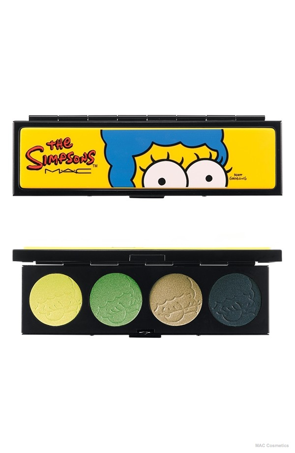 The Simpsons for M·A·C 'That Trillion Dollar Look' Eyeshadow Quad (Limited Edition) available at Nordstrom for $44.00