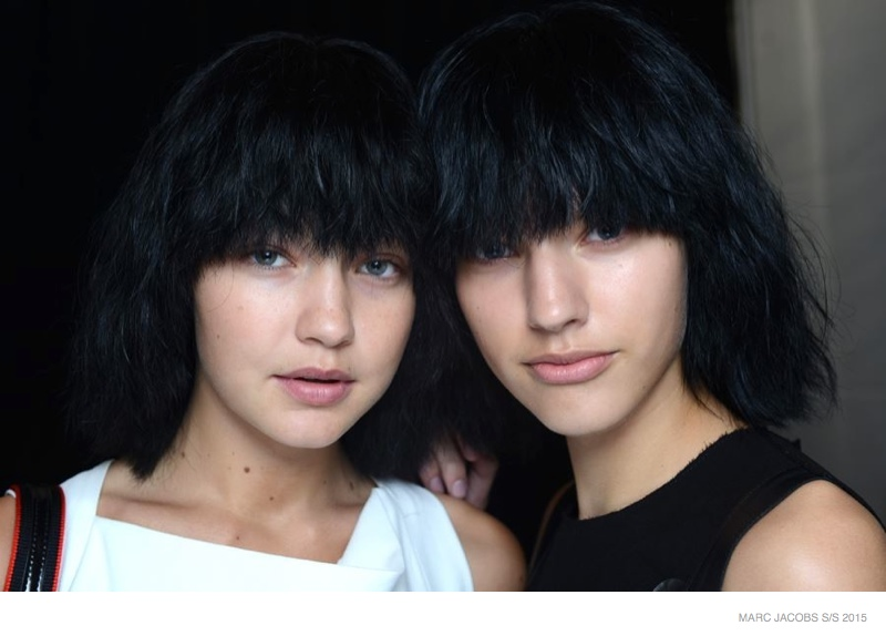 "A Closer Look at Marc Jacobs Spring 2015 ""No Makeup"" Beauty"