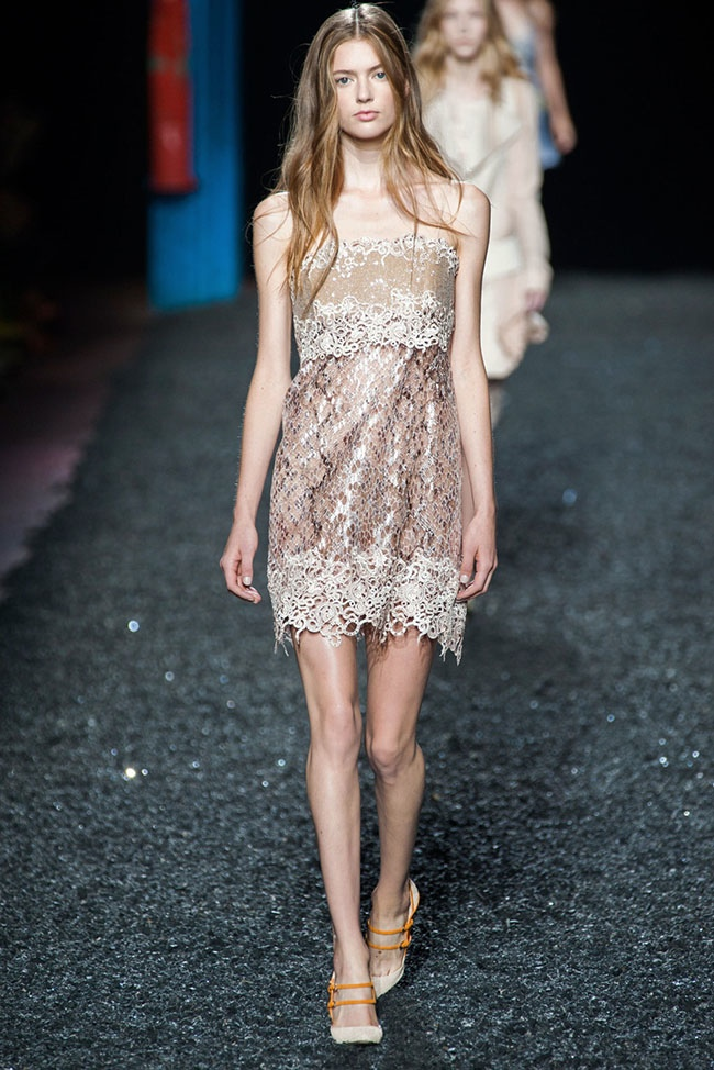Mary Katrantzou Shows Some Skin for Spring 2015