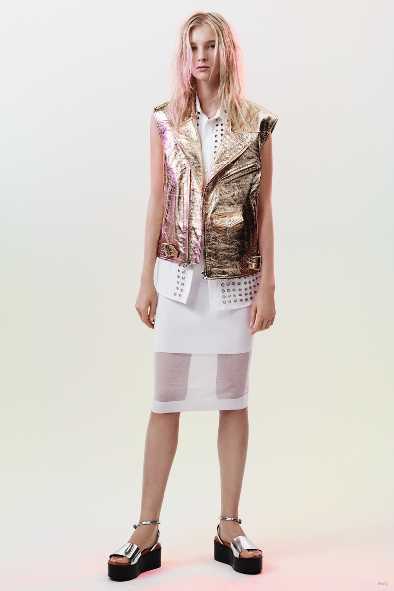 McQ Alexander McQueen Goes 90s for Spring 2015