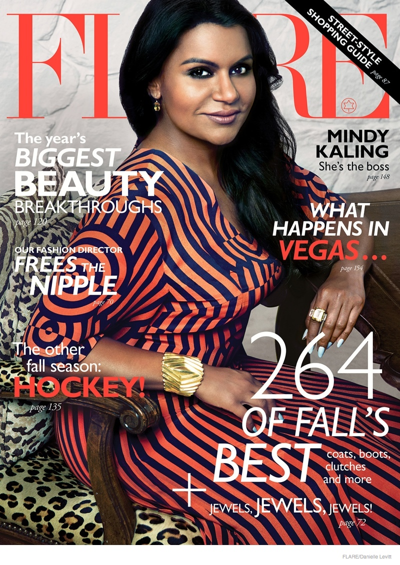 mindy-kaling-flare-shoot-2014-01