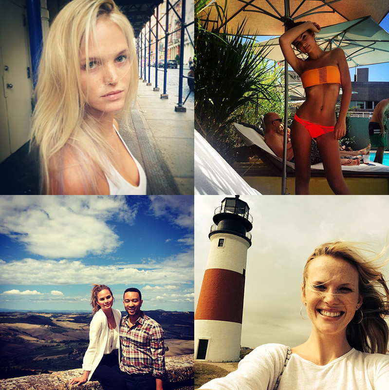 Instagram Photos of the Week | Erin Heatherton, Anne V + More Models