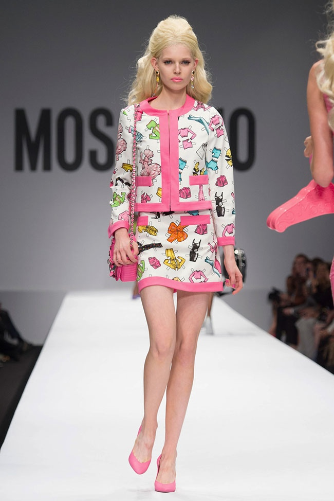 Moschino Barbie Fashion Show Moschino Spring After