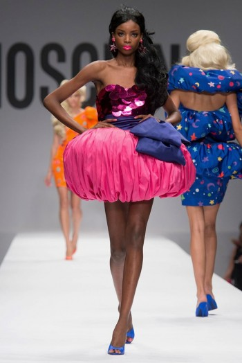 Moschino's Barbie World for Spring 2015