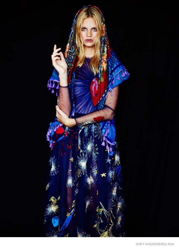 New Folk Art: Nadine Leopold by Billy Kidd for Grey Magazine