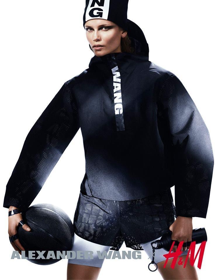 Natasha Poly for Alexander Wang x H&M Photo Revealed!