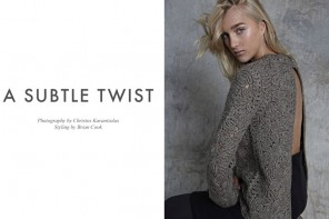 "FGR Exclusive | Sima by Christos Karantzolas in ""A Subtle Twist"""