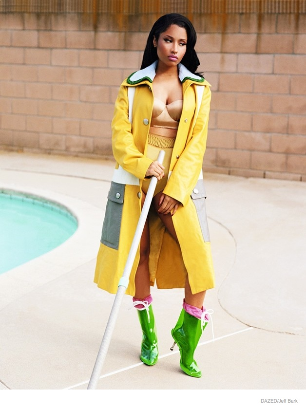 Nicki Minaj Shows Two Sides For Dazed Fall Winter 2014 Shoot