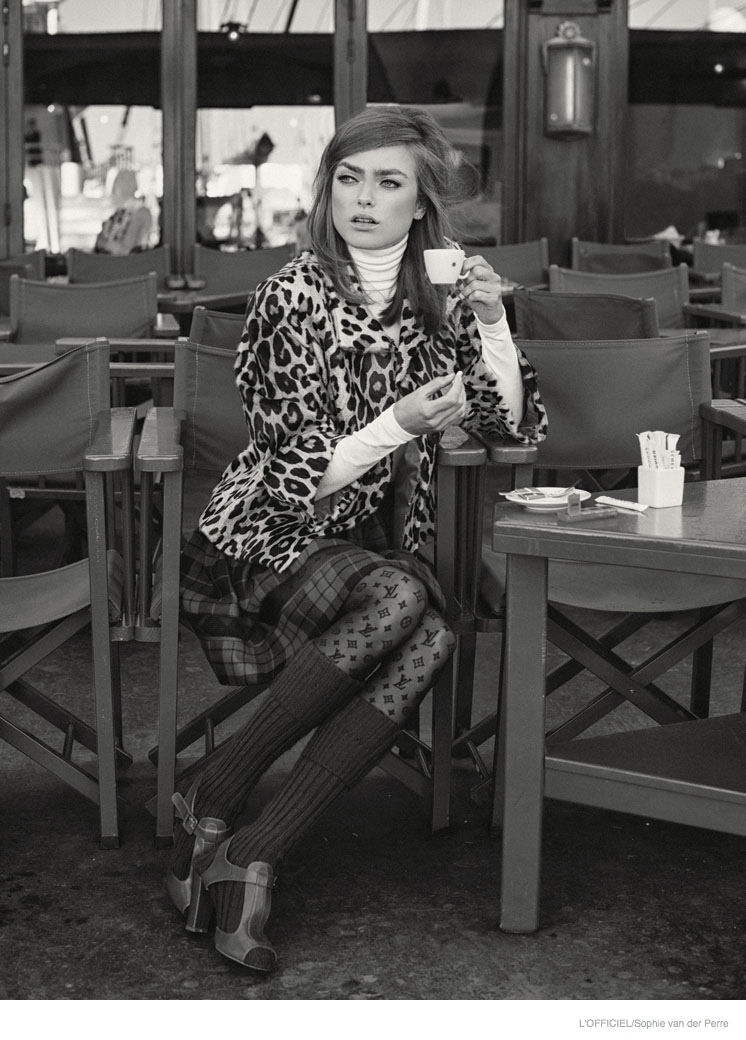 60s Calling Sophie Vlaming By Sophie Van Der Perre For L