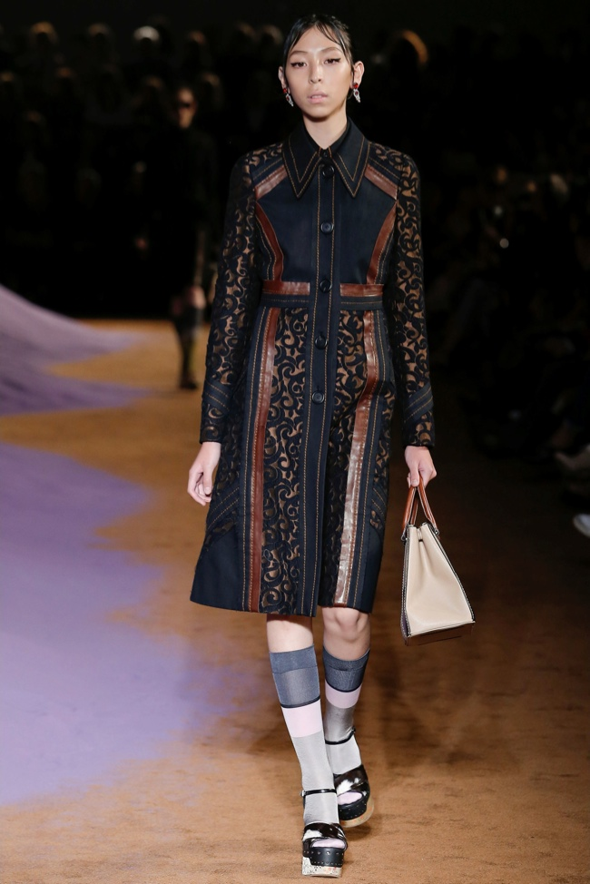 Prada Spring 2015: A Decorative Affair