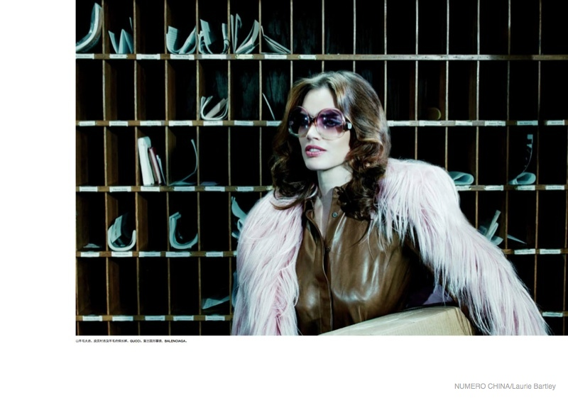 Rianne Ten Haken Takes on 70s Style & Fur for Numero China by Laurie Bartley