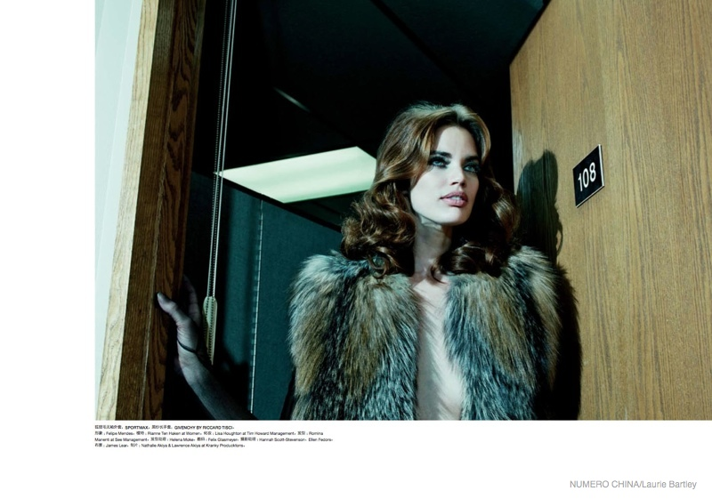 Rianne Ten Haken Takes On 70s Style Fur For Numero China By Laurie
