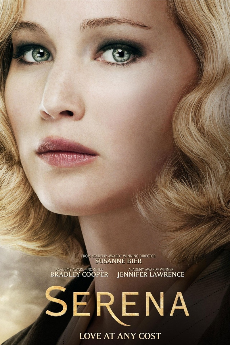 serena 2014 movie poster002 Jennifer Lawrence Stars in Serena Trailer + See the Posters!