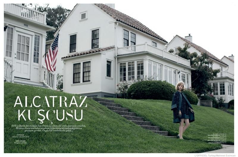 California 60s: Chaun Loose by Mehmet Erzincan for L'Officiel Turkey