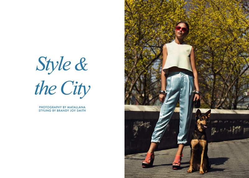 style city title FGR Exclusive | Jena Goldstack by Matallana in Style & the City