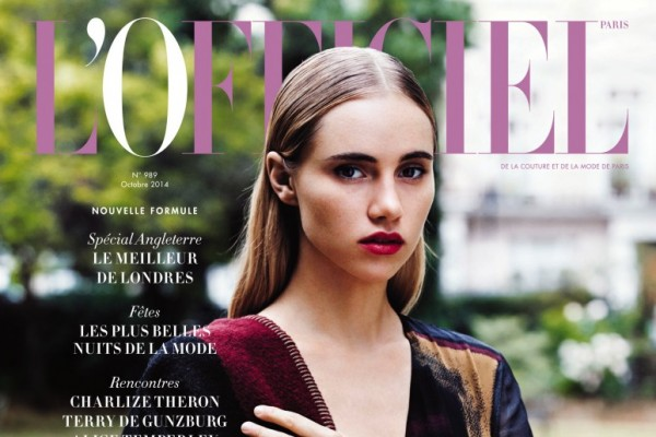 suki-waterhouse-lofficiel-paris-2014-cover