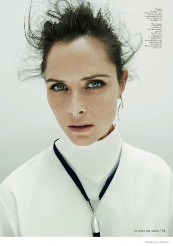 Tasha Tilberg Rocks Nose Ring for Glow Cover Story