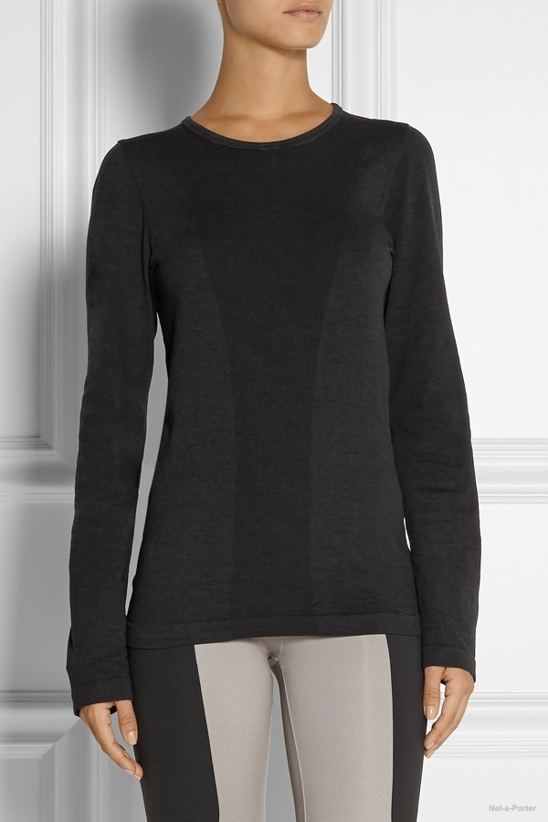 Theory+ Skin CK stretch-jersey top available at Net-a-Porter for $95.00