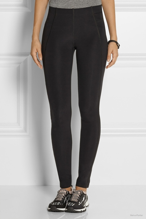 Theory+ Via high-rise stretch-jersey leggings available at Net-a-Porter for $95.00