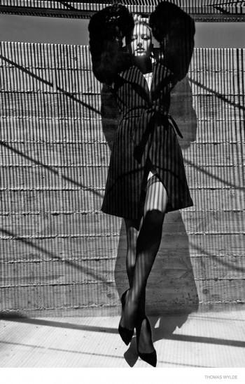 Noot Seear Wears Vixen Style for Thomas Wylde Fall 2014 Ads